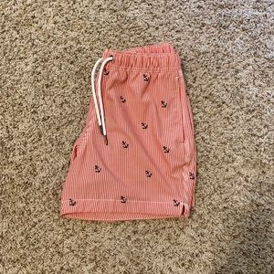 Pink anchor Abercrombie swim shorts